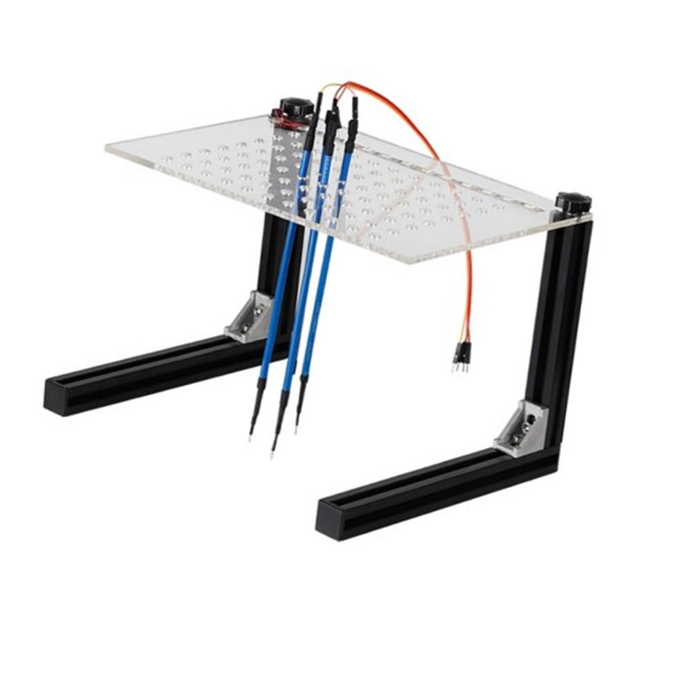 LED BDM Cadre Acrylique D'ÉCUS Programmeur Ensemble Complet BDM Avec 4 pièces Sonde Stylos Pour KTAG KESS V2 Fgtech BDM100 Voiture ECU Outil LED BDM