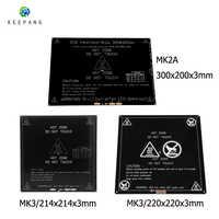 12V mis à niveau MK3 lit chauffant 214x214/220x220/300x200x3mm en aluminium lit chauffant pour imprimante 3d pièces impressora 3d pe as