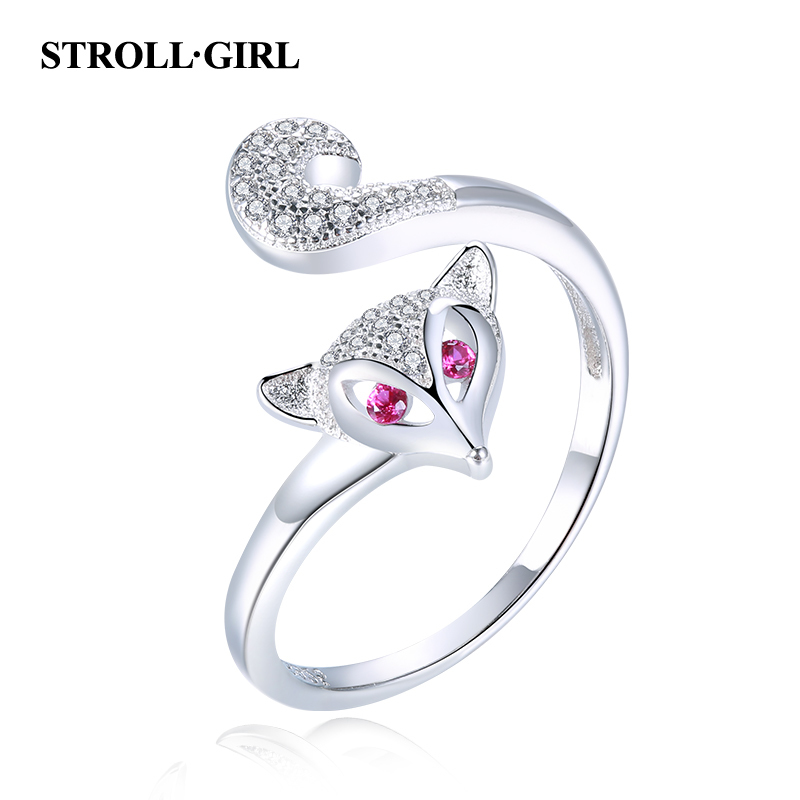 North Arrow Shop Open Ended Knots 925 Sterling Silver Ring Cute Girly with Gift Box