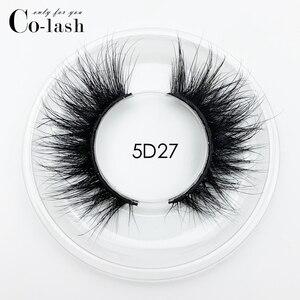 Image 4 - Colash 15 millimetri 5D Ciglia di Visone Ciglia Finte Incrociato Naturale lunghe ciglia Trucco 3D Ciglia di Visone Estensione Del Ciglio Del Ciglio Multi strato