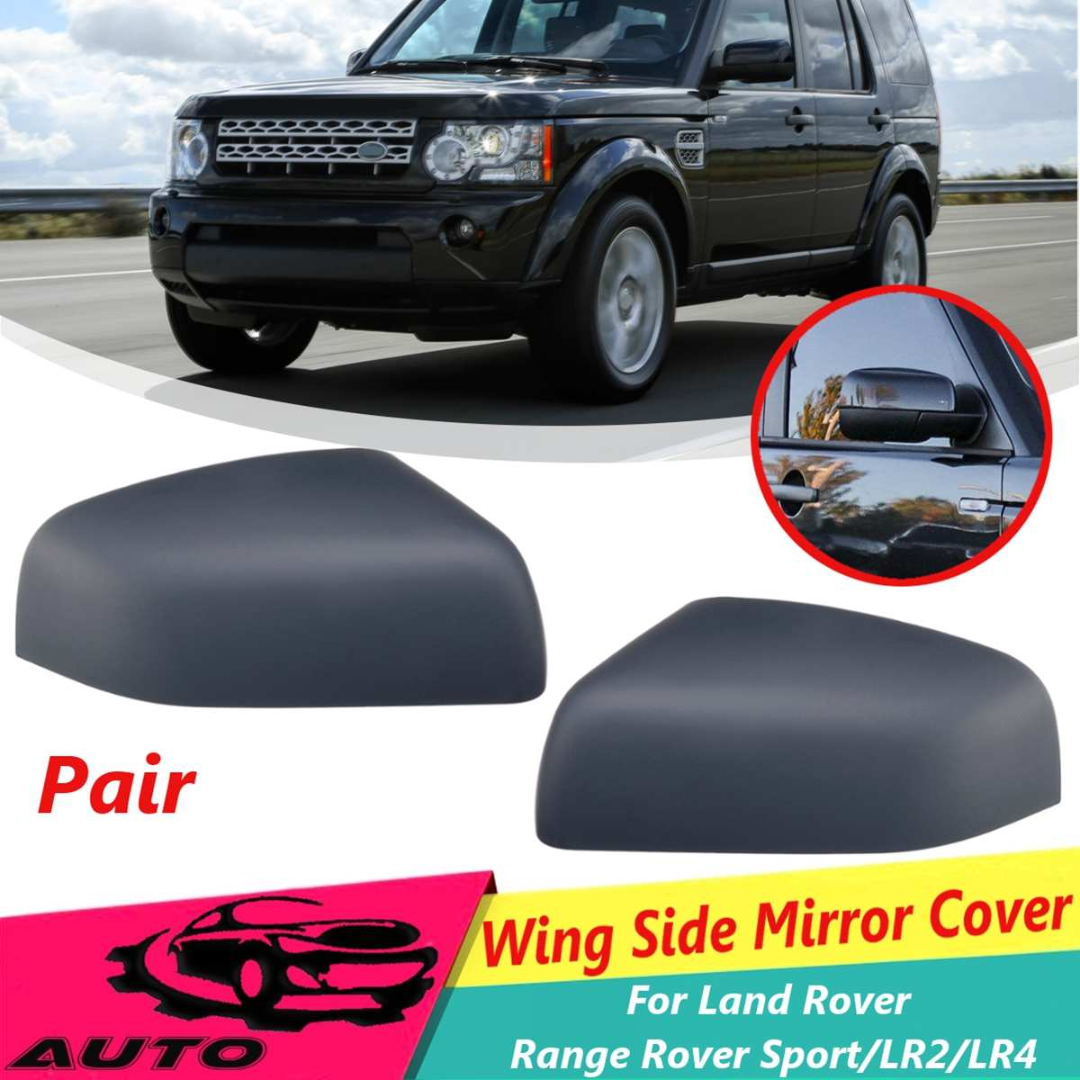 1 Pair Car Rainproof Rearview Mirror Protective Film For Land Rover Lr4 Lr3 Lr2 Range Rover Evoque Defender Discovery Freelander Automobiles & Motorcycles