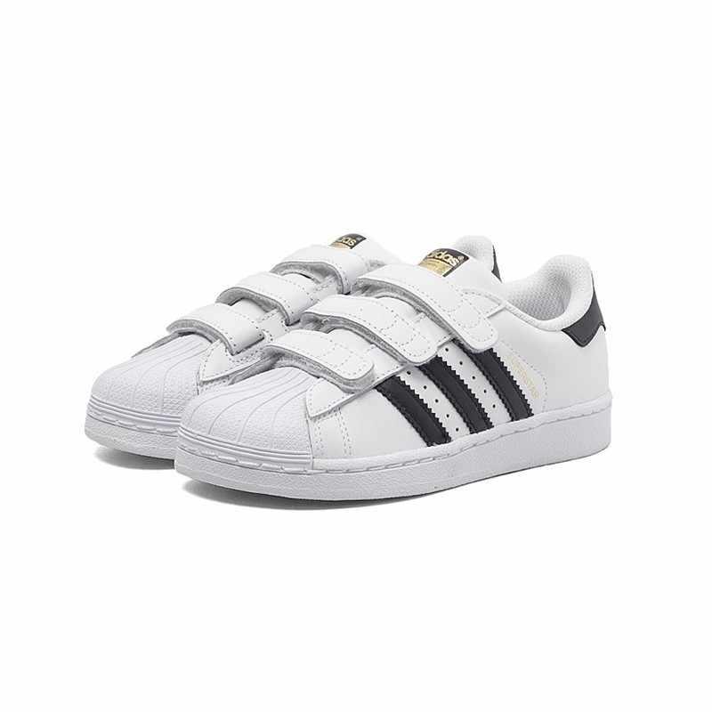 ADIDAS SUPERSTAR FOUNDATION oryginalne buty na deskorolkę dla dzieci oddychające lekkie sportowe trampki dla dzieci # B26070