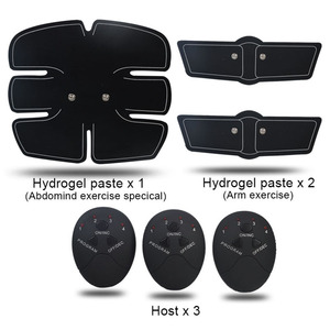 Image 4 - Ems Muscle abs Stimulator Abdominal Hip Trainer electric vibrate massager Weight Loss relaxation Body Slimming Belt Unisex