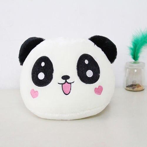hot kawaii panda plush doll toy pillow