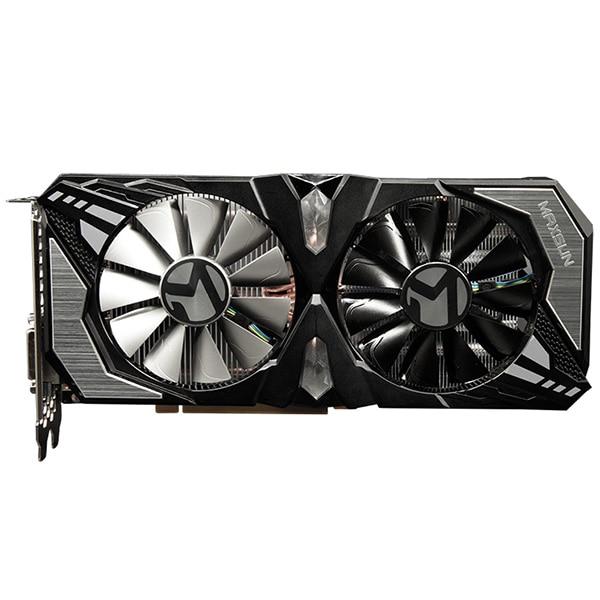 Orginal MAXSUN Nvidia GeForce RTX 2070 8GB Video Graphics Cards for Gaming GDDR6 256bit DirectX 12 8Pin HDMI DVI DP