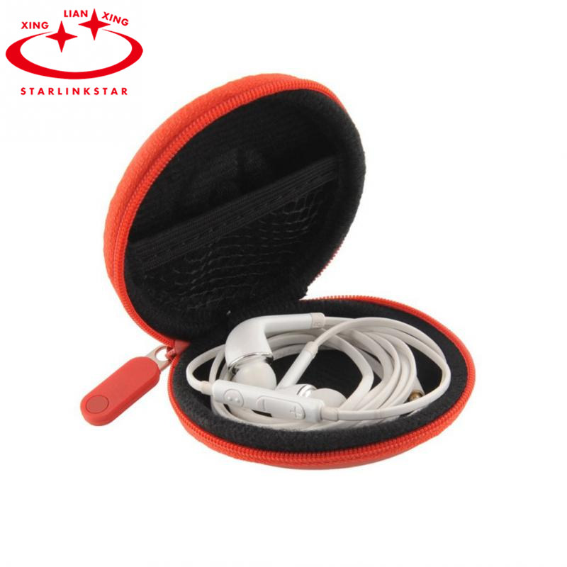 1Pcs 2016 In-Ear Earphones Package Box Headset Bluetooth Data Line Headphone Portable Storage Bag USD SD Card Protective Box image