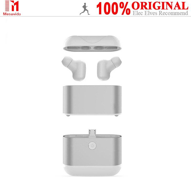 Mesvida X2 Tws Double oreille Bluetooth casque sans fil Ultra petit furtif Mini prise d'oreille avec batterie externe