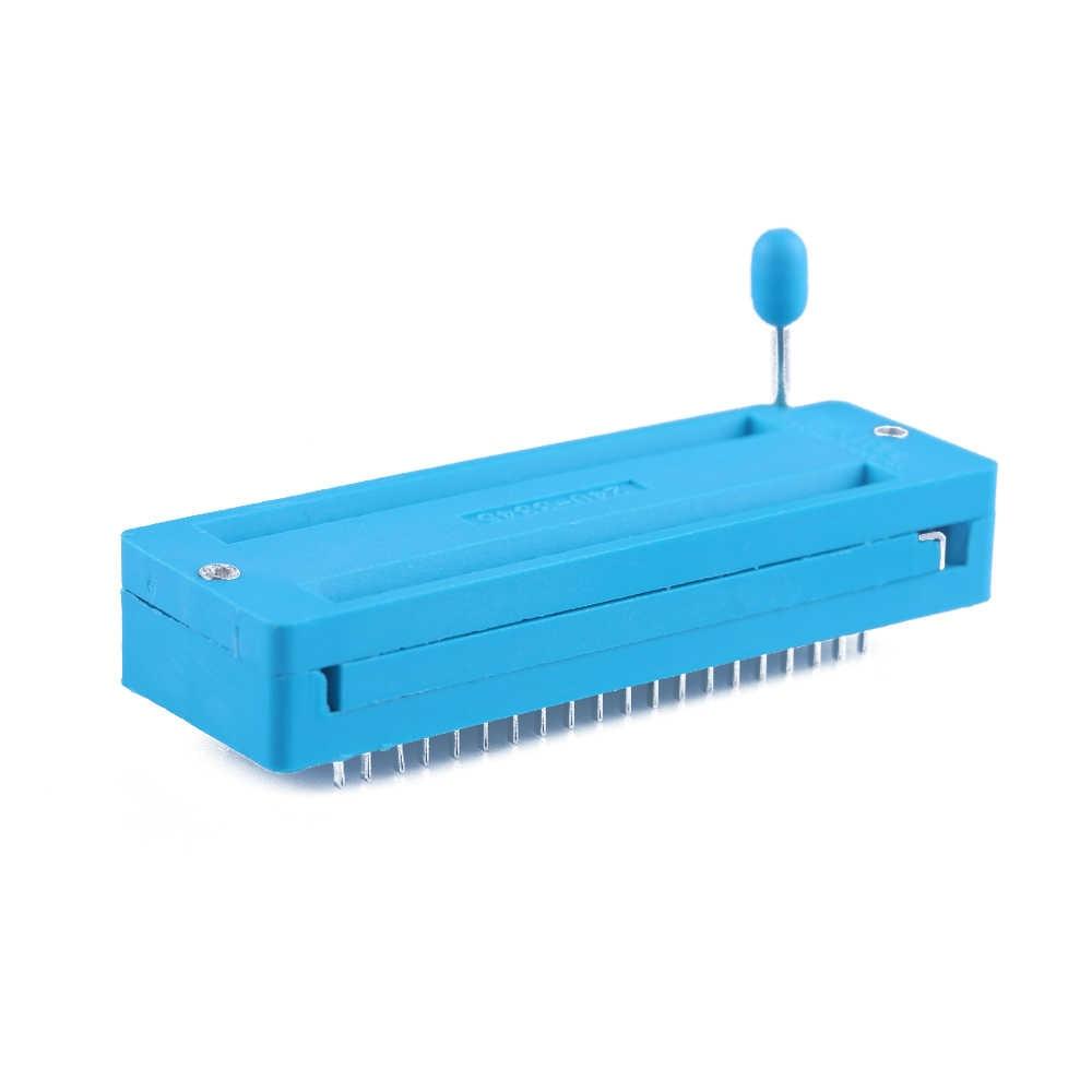 6 adet evrensel 14/16/18/24/28/40 pin IC Test evrensel ZIF soket sıcak ev geliştirme