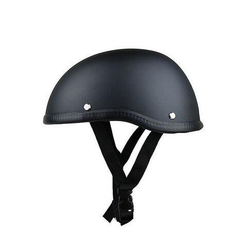 tampao do cranio metade do rosto do capacete da motocicleta do vintage capacete alemao retro