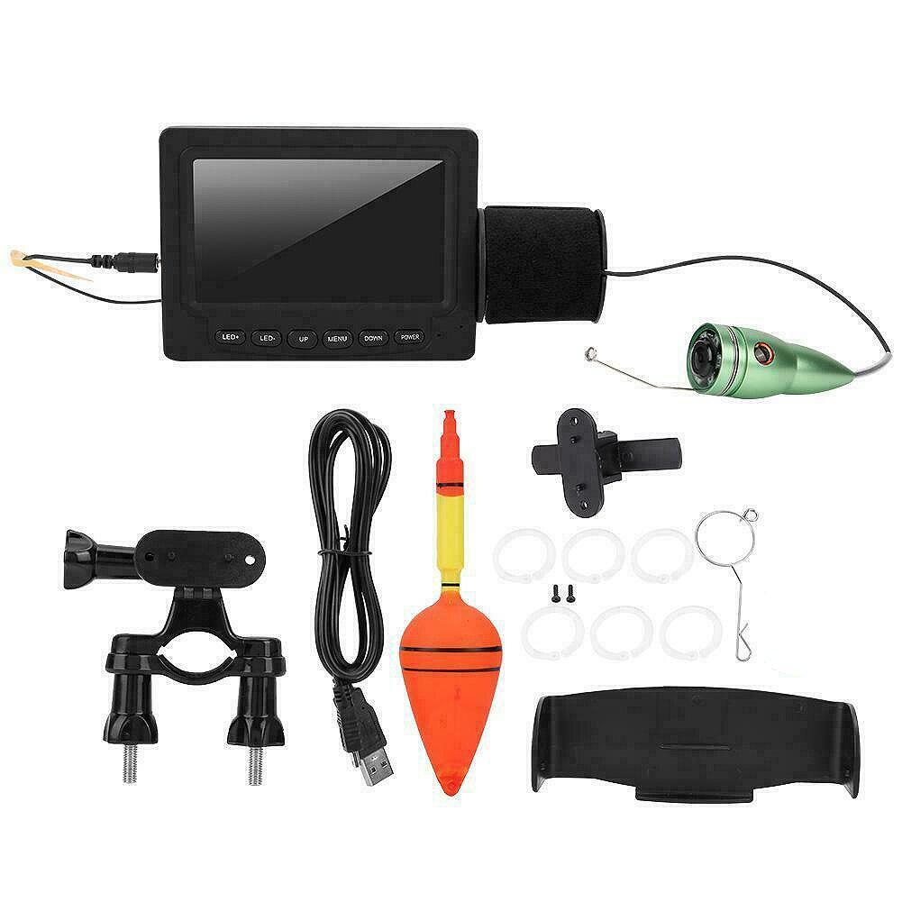 FSTE sous-marin détecteur de poisson glace vidéo caméra de pêche Lcd moniteur nuit caméra sondeur