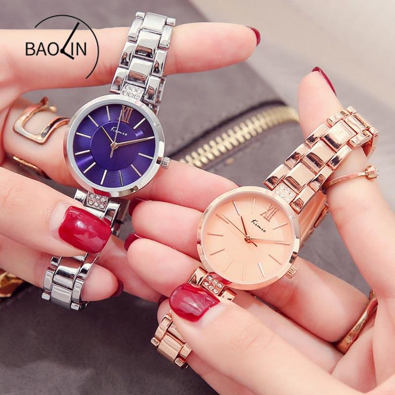 KIMIO Λεπτό ρολόι γυναικών μόδας απλά - Γυναικεία ρολόγια - Φωτογραφία 4