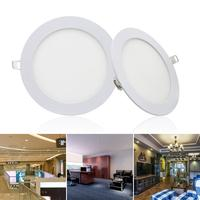 Ultra thin Dimmable Round Recessed LED Ceiling 3000K 6500K Lights for 29cm/11.4inch 24W Home Office Lighting