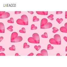 Laeacco Baby Party Screen Cute Red Hearts Backdrop Photography Backgrounds Customized Photographic For Photo Studio