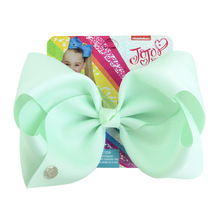 8 Inch Baby Hair Accessories Girls Bows 20 Solid Colors Kids Grosgrain Ribbon Hair Clips Head Wear Bowknot Hairpins Drop Ship цена в Москве и Питере
