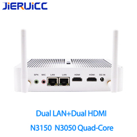 N3050 N3150 intel celeron quad core 1.6ghz 2.08ghz,dual lan dual hdmi with Windows 10 Pro Mini Computer for VPN router