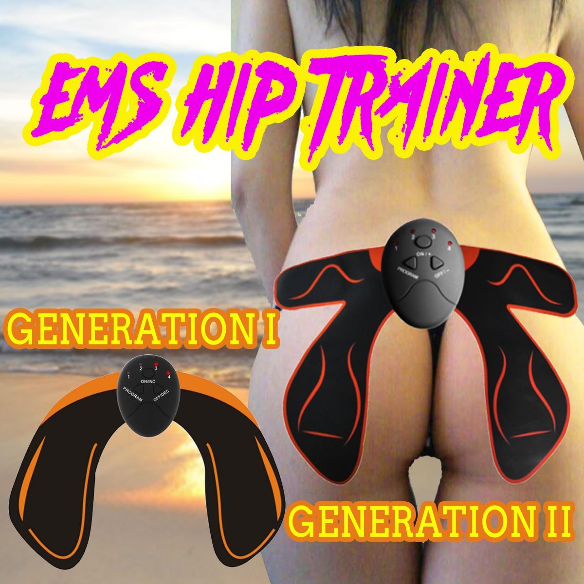 493370810 EMS Smart Hip Trainer Buttocks Butt Lifting Fitness Massage Machine  Electric Vibration Muscle Stimulator Relaxtion Machine