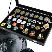 OHCOMICS 32pcs Harri Potter Harry Gryffindor Ravenclaw/Hufflepuff /Slytherin Metal GOLDEN SNITCH Badge Pin Brooch Chestpin Gift