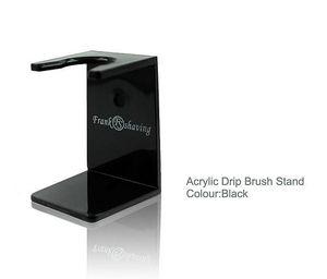 "Image 5 - ""FS"" 26mm G4 Synthetic Hair Shaving Brush Zebra Handle+FREE STAND"