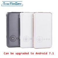 5000 mah Touyinger Everycom S6 плюс небольшой карманный проектор DLP WiFi портативный проектор для смартфона Android AC3 Bluetooth