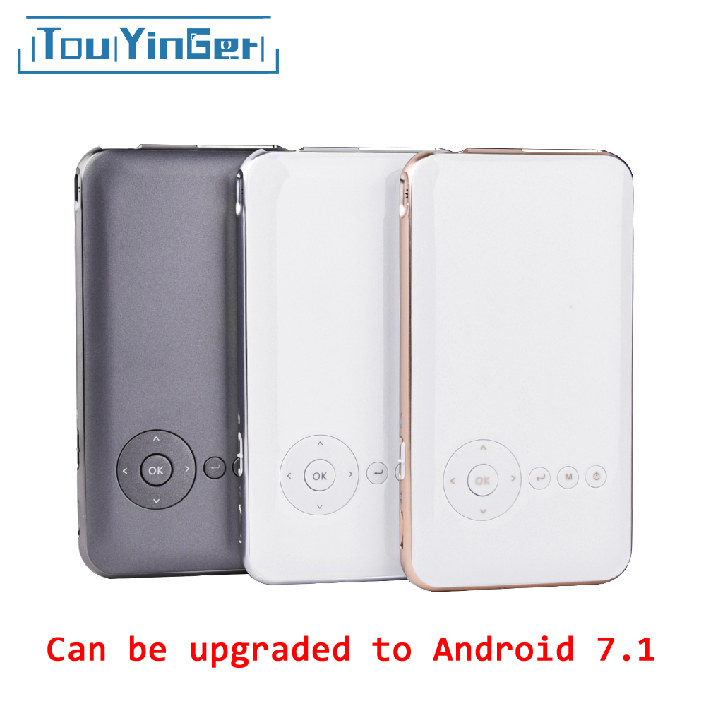 5000 mah Touyinger Everycom S6 plus Mini tasche projektor dlp wifi tragbare Handheld smartphone Projektor Android AC3 Bluetooth