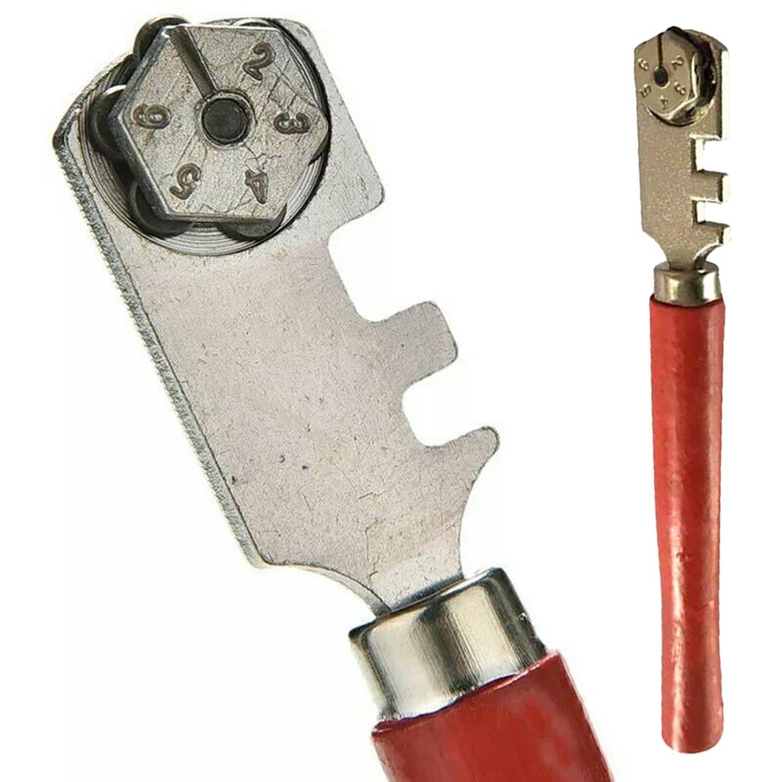 Professional Glass Cutter Diamond Cutting Head Tube Pipe Cutter Compass FM