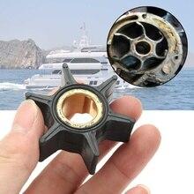 18-3051 395289 водяной насос Рабочее колесо для Джонсон Evinrude 20/25/30/35HP лодочный мотор 5,1 см черные резиновые Сменные кассеты-6 шт. лодка Запчасти