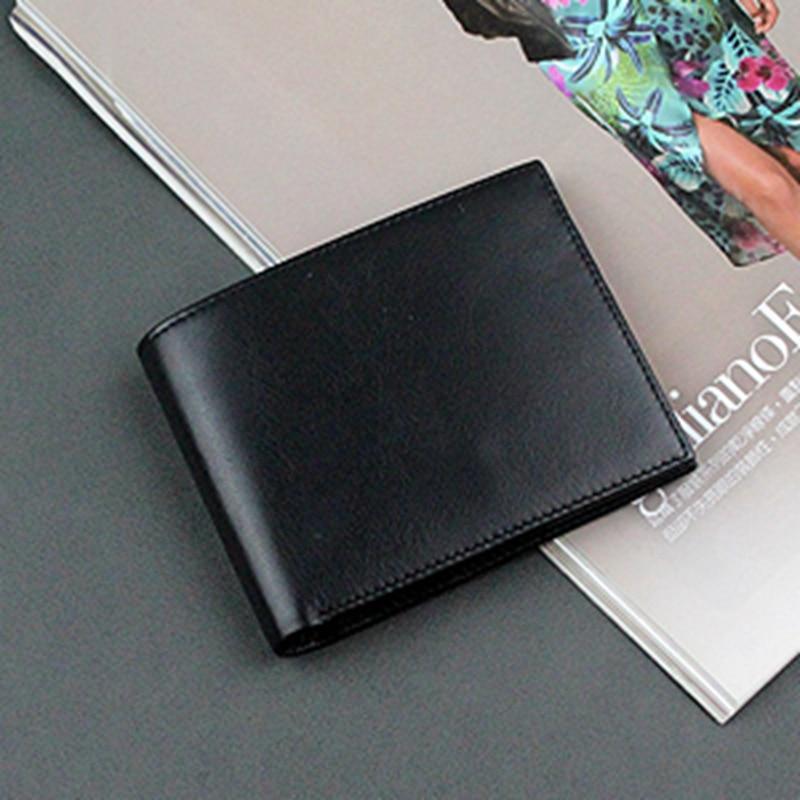 Marque de luxe portefeuille pour hommes Vêtements À Coudre Tissu En Cuir Véritable