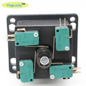 Image 5 - 2 נגני ארקייד ג ויסטיקים DIY ערכת אפס עיכוב USB מקודד האמריקאי סגנון ג ויסטיק 28mm לדחוף כפתור מחשב Mame פטל pi 1 2 3