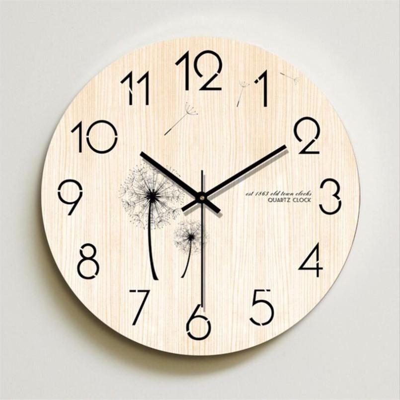 New 12inch 3D Wall Clock Quartz Silent Movement Clock Large Size Sweeping Seconds Nordic Mute Clock Modern Design Home Decor Наручные часы