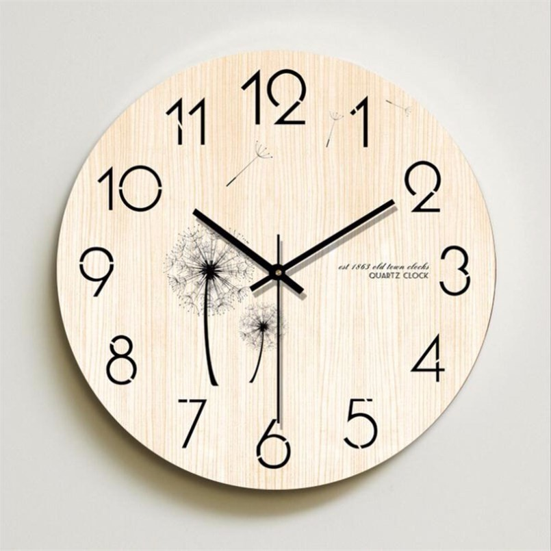 Aspiring New 12inch 3d Wall Clock Quartz Silent Movement Clock Large Size Sweeping Seconds Nordic Mute Clock Modern Design Home Decor Wall Clocks Home Decor