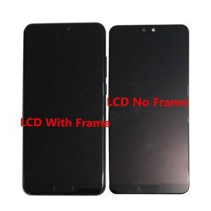 "Image 4 - Original Frame M&Sen 5.8"" For Huawei P20 AL00 LCD Display Screen Touch Panel Digitizer With Fingerprint P20 EML L29 L22 L09 AL00"