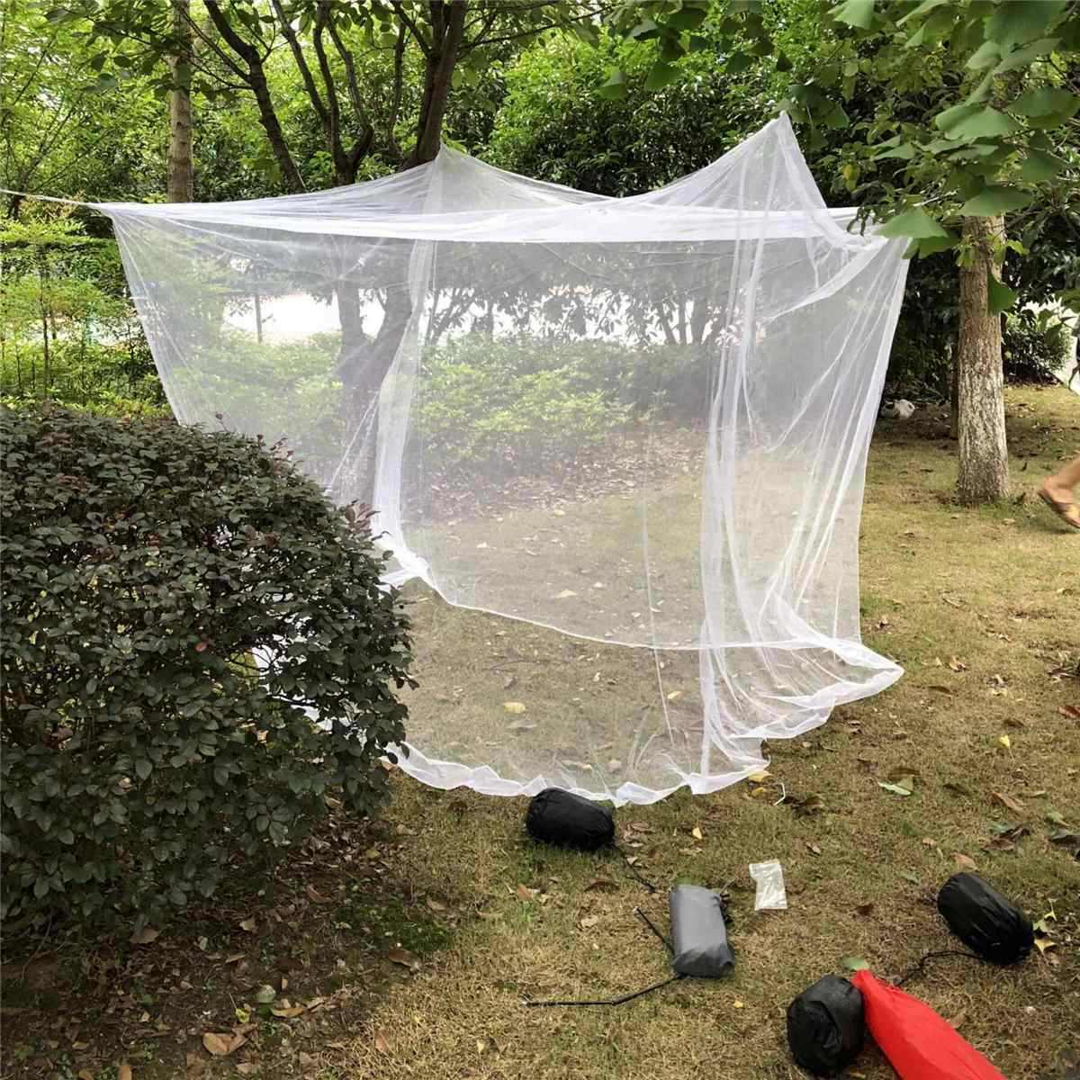 200x200x180cm Travel Camping Mosquito Net Repellent Tent Insect Reject Canopy Bed Curtain Bed Tent