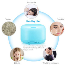 Diffuser Essential Oil Humidifier Waterless Auto Shut-Off 500ml Mist