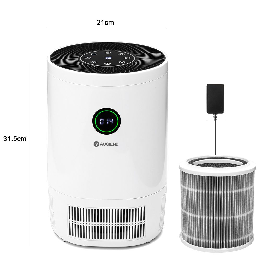 Image 5 - AUGIENB 2019 New Air Purifier Ionizer With HEPA Filter Remove Odor Smoker Dust Wash Air For Home Room Air Cleaner Filter-in Air Purifiers from Home Appliances