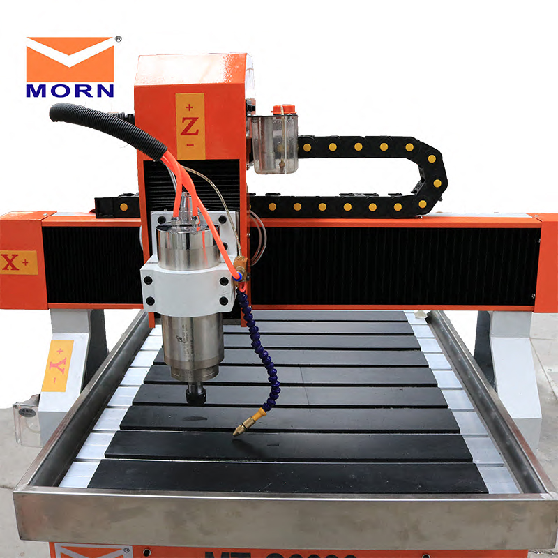 6090 3 Axis Desktop Cutting And Engraving Machine With Rotary Axis For Wooden Stone Metal Engraving