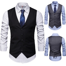 Spring Men's Casual Vest Slim Suit Vest Men's Wear Vest Married Work Hotel Work Clothes work life balance among married women employees