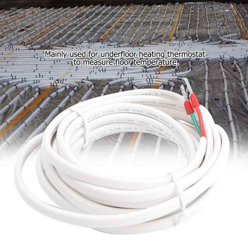 3 Meters 10 KΩ Precision Sensor Cable Professional Accurate Floor Heating Thermostat Temperature Sensor Prob