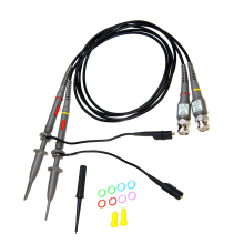 2Pcs Durable Oscilloscope Scope Analyzer Clip Probe 100MHz Oscilloscope Probe Test Leads Measurement Tools цены