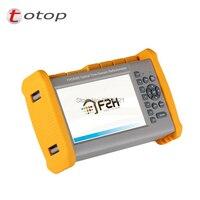FHO5000 D35 OTDR  1310/1550nm  35/33dB Embutido Localizador Visual de Falhas  fibra Reflectômetro Domínio de Tempo Ótico