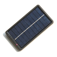 New Portable Solar Panel Mini Solar Charger For 18650 Batteries/Mobile Phones 2W 5V Solar Panel Patent Design 175X95X25mm