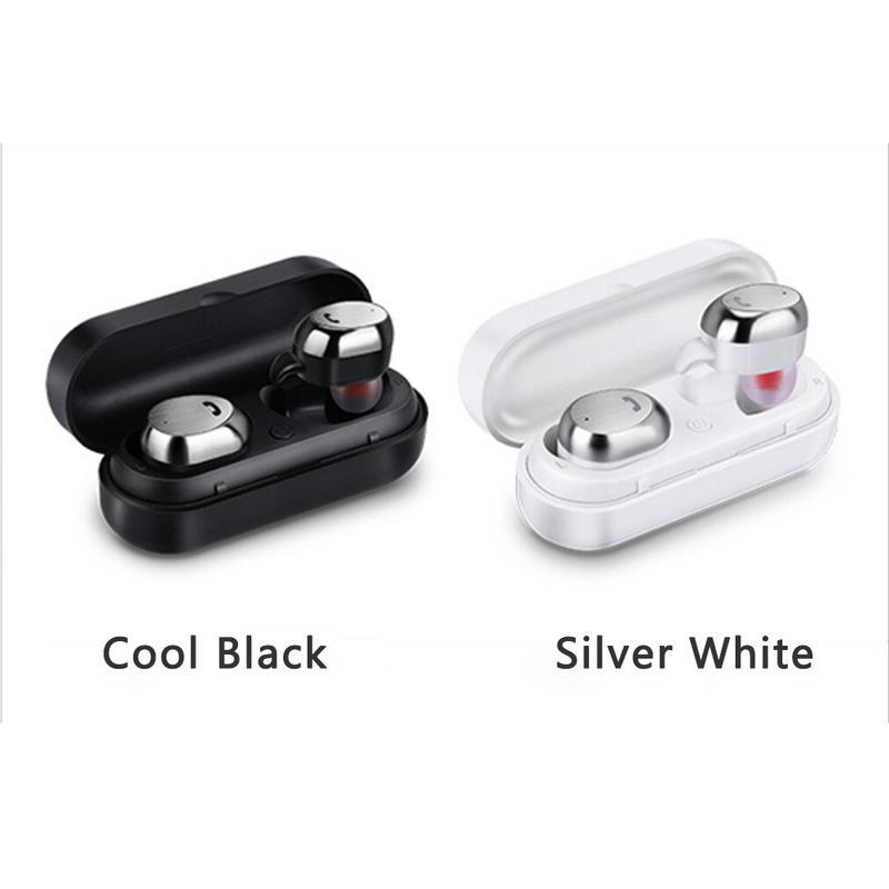Nouveau sans fil sport Bluetooth casque M9 TWS Bluetooth écouteur sans fil sport 4.1 in-ear stéréo double écouteurs écouteurs
