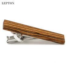 Low-key Luxury Man Tie Bar of Bocote Business Wedding Party Necktie wooden Tie Bar Clip High quality Wood Tie clips For Mens цены