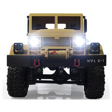 RC Crawler Off Road Car WPL B-1 DIY Car Kit 1/16 2.4G 4WD Without Electronic Parts ATR ABS Metal Assemble For Boy Children kids(China)