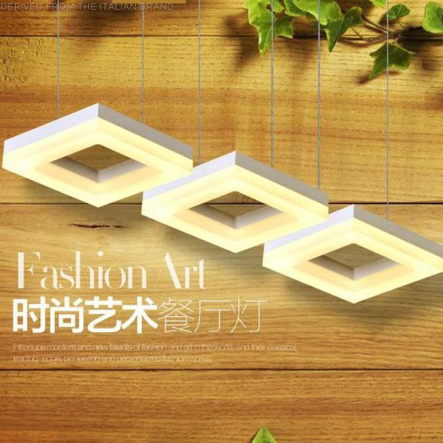 Office Led commercial lighting 3-6 pcs project Modern led pendant lamp professional lighting Dining room industrial light lustre