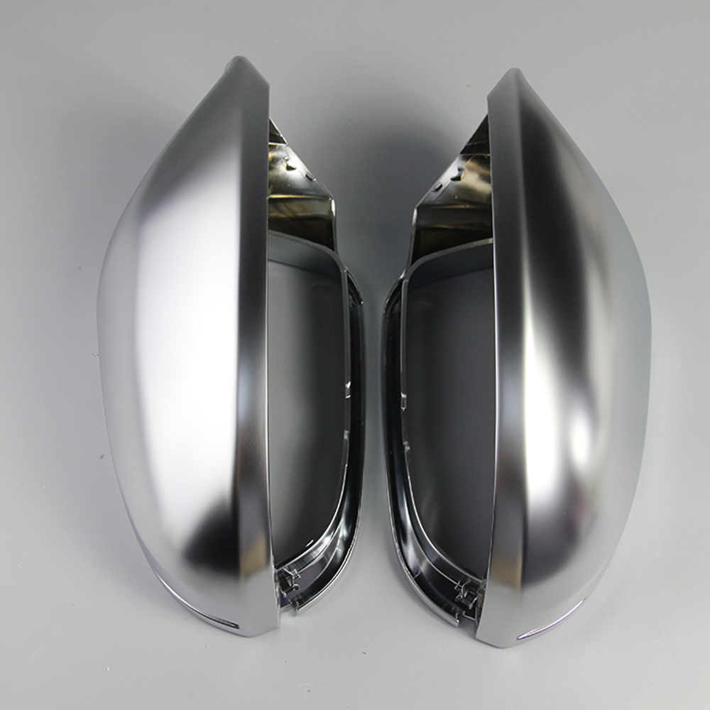 For Audi A6 C7 S6 2012 2013 2014 2015 2018 1 Pair Rearview Mirror Shell Cover