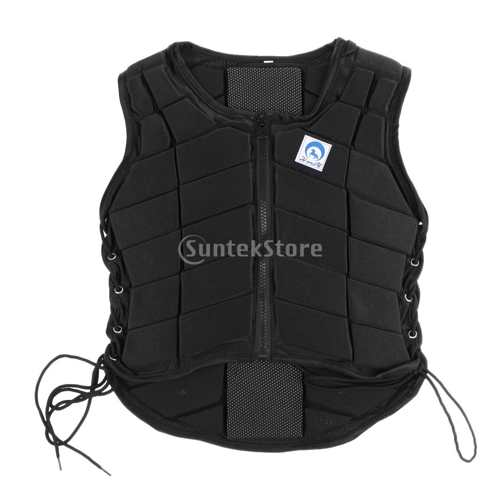 Safety Horse Riding Equestrian Vest EVA Padded Protective Body Protector Protection Gear Equipment for Children Adult