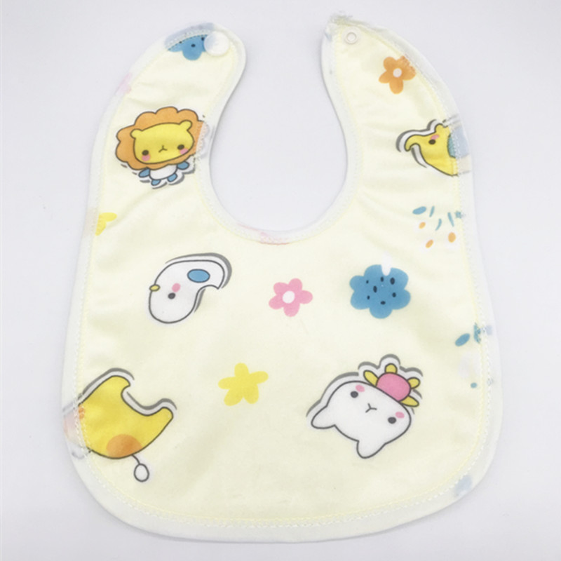 Image 4 - 30pcs/lot Toddler  Baby Boys Girls Waterproof Feeding Clothes  Newborn Clothing Accessories Baby Bibs Infant Feeding ClothesBibs & Burp Cloths   -