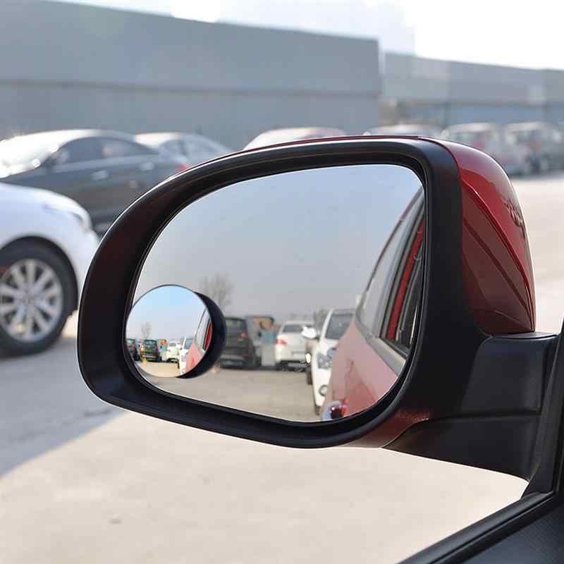 1 個 360 広角ラウンド凸ミラーワイドリアビュー小さなラウンドミラー車の自動車のサイド Blindspot ブラインドスポットミラー
