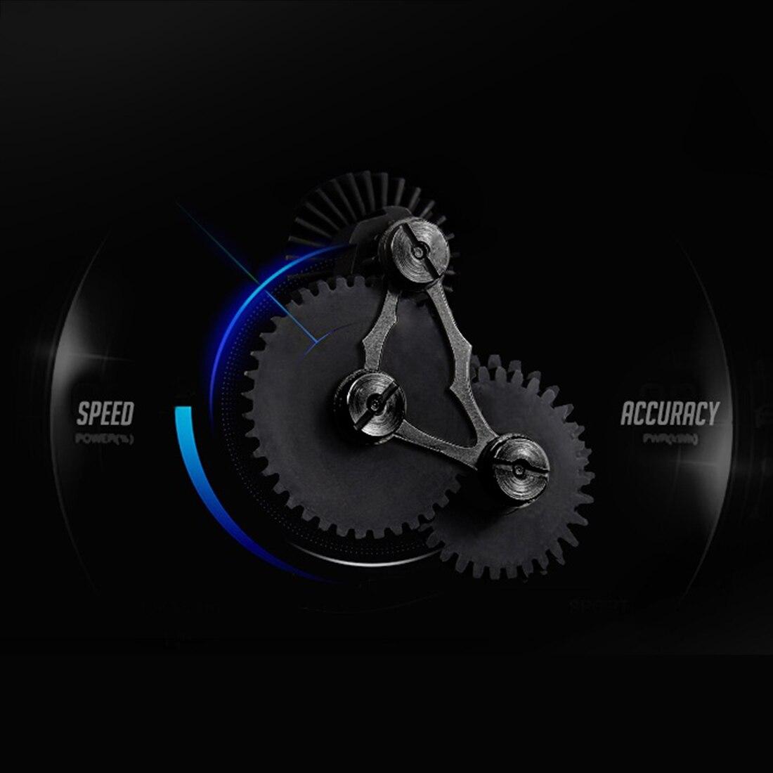Rowsfire 1/5 Pcs Module de vitesse Non réglable dent en acier pour boîte de vitesses FB Gerbox et Jiqu-noir - 5