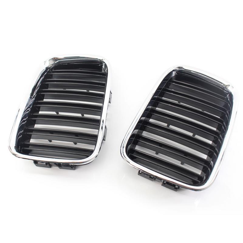 100% Marque Nouvelle Voiture Grille Semi-Électrolytique Cadre Double Ligne Grille Pour BMW 3 Série E36 97-99 voiture Accessoirise